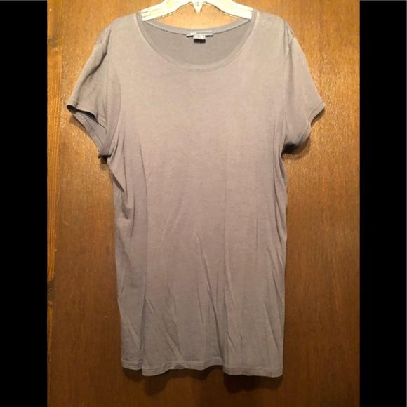 Vince grey short sleeve t shirt size large